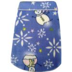 View Image 1 of Snowman Snowflake Dog Pullover - Light Blue