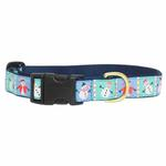 View Image 2 of Snowman Dog Collar by Up Country