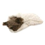 View Image 3 of Snuggle Pup Sleeping Bag Dog Bed by Hello Doggie - Rosebud Cream