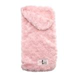 View Image 1 of Snuggle Pup Sleeping Bag Dog Bed by Hello Doggie - Rosebud Pink
