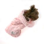 View Image 2 of Snuggle Pup Sleeping Bag Dog Bed by Hello Doggie - Rosebud Pink