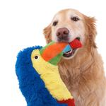 View Image 2 of Soda Pop Critters Dog Toy - Toucan