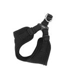 View Image 2 of Soft Adjustable Step-In Dog Harness by Puppia - Black