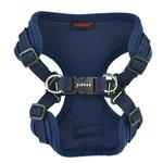 View Image 2 of Soft Adjustable Step-In Dog Harness by Puppia - Navy