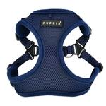 View Image 1 of Soft Adjustable Step-In Dog Harness by Puppia - Navy