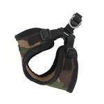 View Image 2 of Soft Adjustable Step-In Dog Harness by Puppia - Camo