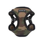 View Image 1 of Soft Adjustable Step-In Dog Harness by Puppia - Camo