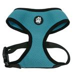 View Image 3 of Soft & Comfy Mesh Dog Harness - Lagoon