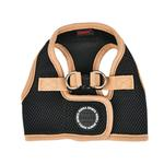 View Image 1 of Soft Mesh Vest Dog Harness by Puppia - Black