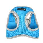 View Image 5 of Soft Mesh Vest Dog Harness by Puppia - Sky Blue