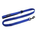 View Image 1 of Soft Pull Traffic Dog Leash by Doggie Design - Cobalt Blue