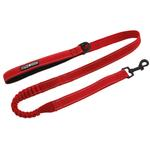 View Image 1 of Soft Pull Traffic Dog Leash by Doggie Design - Red