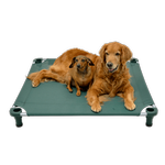 View Image 2 of Solid Color Premium Weave Dog Cot - Hunter Green