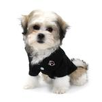 View Image 3 of Solid Dog Polo by Doggie Design - Jet Black