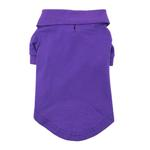 View Image 3 of Solid Dog Polo by Doggie Design - Ultra Violet