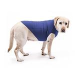 View Image 2 of Cloak & Dawggie Stretch Fleece Dog Sweater - Blue