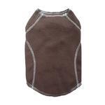 View Image 1 of Cloak & Dawggie Stretch Fleece Dog Sweater - Brown