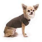 View Image 2 of Cloak & Dawggie Stretch Fleece Dog Sweater - Brown
