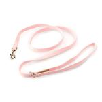 View Image 1 of Solid Ultrasuede Dog Leash by Susan Lanci - Puppy Pink