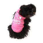 View Image 3 of Some Bunny Loves You Dog Shirt - Light Pink