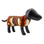 View Image 1 of Southwestern Blanket Dog Coat - Brown