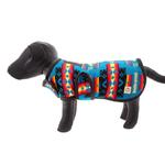 View Image 2 of Southwestern Dog Coat - Turquoise