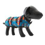 View Image 1 of Southwestern Dog Coat - Turquoise