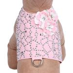 View Image 1 of Special Occasion Bailey Dog Harness by Susan Lanci - Puppy Pink Charlotte's Web