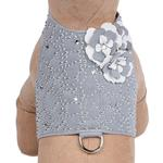 View Image 1 of Special Occasion Bailey Dog Harness by Susan Lanci - Platinum Charlotte's Web