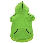 View Image 1 of Sport Dog Hoodie by Doggie Design - Green Flash
