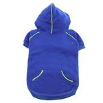 View Image 1 of Sport Dog Hoodie by Doggie Design - Nautical Blue