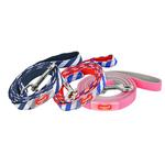View Image 2 of Sport Dog Leash by Puppia - Pink and Gray