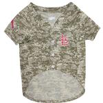 View Image 2 of St. Louis Cardinals Dog Jersey - Camo
