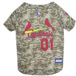 View Image 1 of St. Louis Cardinals Dog Jersey - Camo