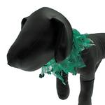 View Image 1 of St. Patrick's Day Clover Dog Neck Scrunchy