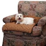 View Image 1 of Sta-Put Dog Bed Bolstered Furniture Protector by PetSafe - Cocoa
