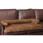 View Image 2 of Sta-Put Dog Bed Bolstered Furniture Protector by PetSafe - Cocoa