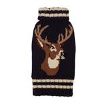 View Image 1 of Stag Dog Sweater from Fab Dog - Navy