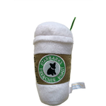 View Image 2 of Starbarks With Lid Plush Dog Toy - Frenchie Roast