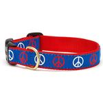 View Image 1 of Peace Dog Collar by Up Country