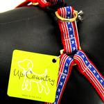 View Image 2 of Stars and Stripes Dog Harness by Up Country