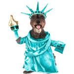 View Image 1 of Statue of Liberty Dog Costume