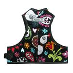View Image 2 of Step Easy Adjustable Dog Harness - Paisley and Black