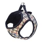View Image 1 of Step-in Cirque Dog Harness - Tan Tartan