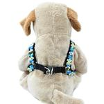 View Image 2 of Step-In Dog Harness by Diva Dog - Coco Blue