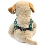 View Image 2 of Step-In Dog Harness by Diva Dog - Boho Peacock