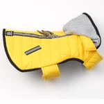 View Image 2 of Stowe Puffer Dog Coat - Yellow