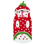 View Image 3 of Strawberry Dog Sweater by Dogo - Red
