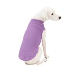 View Image 2 of Stretch Fleece Dog Vest by Gooby - Lavender