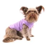 View Image 1 of Stretch Fleece Dog Vest by Gooby - Lavender
